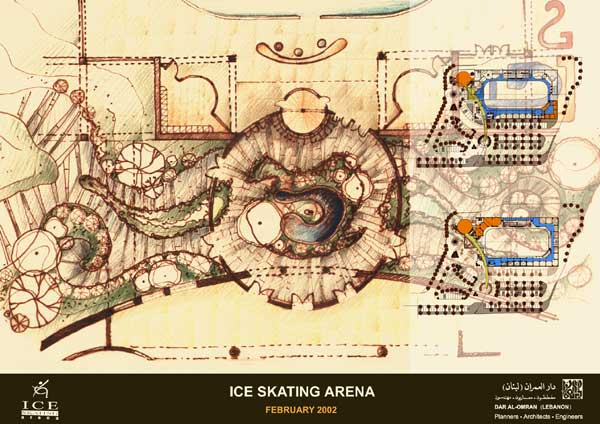 Ice Skating Arena
