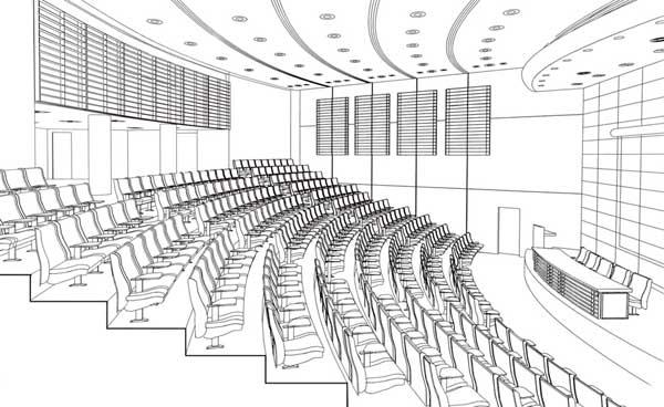 The Auditorium of the Jordan National Medical Council