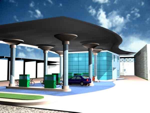 Marj Gas Station