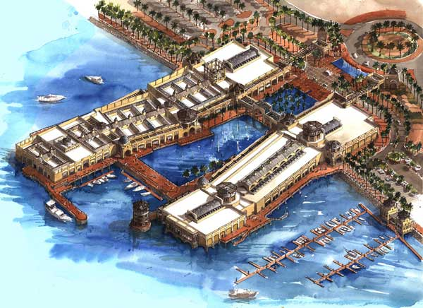 The Fahaheel Waterfront Development Project