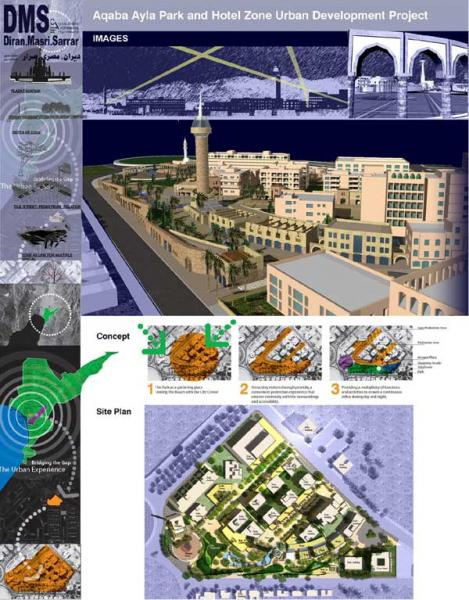 The entry for the Ayla Park Urban Development Project by Diran Masri Sarrar