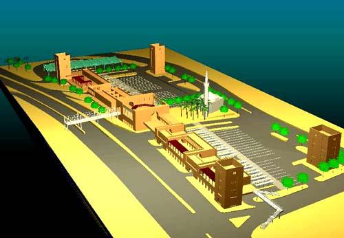 The Raghdan Bus Terminal