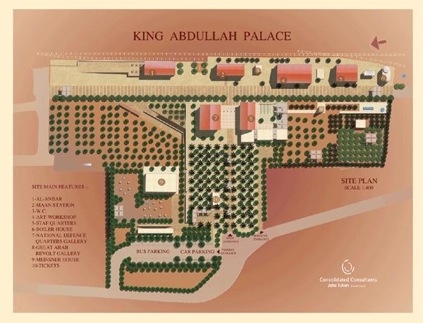 King Abdullah palace