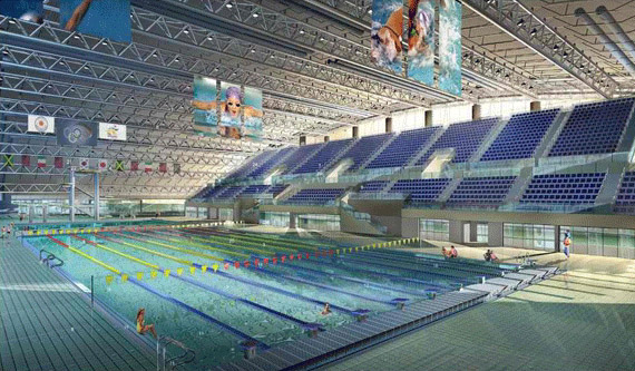 The Qatar National Olympic Committee Pools in Qatar