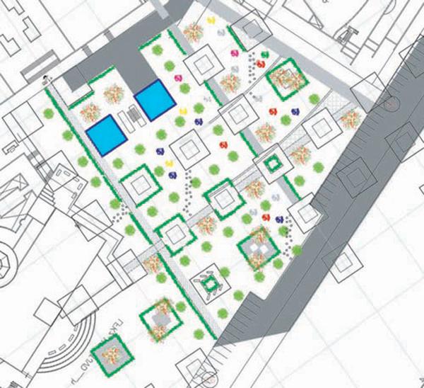 Landscape Design Project for The Applied Sciences University campus