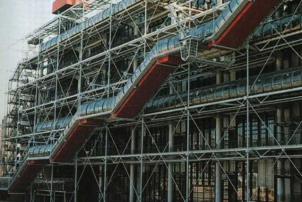 Figure 1: Renzo Piano and Richard Rogers, Pompidou Center, Paris.
