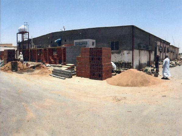 صورة لعملية تطوير واجهات الأبنية