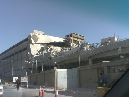"A photo showing the demolishing of the factory in 2008. .صورة تظهر عملية هدم مبنى المصنع في عام 2008           Normal     0                     false     false     false         EN-US     X-NONE     AR-SA                                                                                                                                                                                                                                                                                                                                                                                                                                                                                                                                                                                                                                                                                                             /* Style Definitions */  table.MsoNormalTable 	{mso-style-name:""Table Normal""; 	mso-tstyle-rowband-size:0; 	mso-tstyle-colband-size:0; 	mso-style-noshow:yes; 	mso-style-priority:99; 	mso-style-parent:""""; 	mso-padding-alt:0cm 5.4pt 0cm 5.4pt; 	mso-para-margin-top:0cm; 	mso-para-margin-right:0cm; 	mso-para-margin-bottom:8.0pt; 	mso-para-margin-left:0cm; 	line-height:107%; 	mso-pagination:widow-orphan; 	font-size:11.0pt; 	font-family:""Calibri"",""sans-serif""; 	mso-ascii-font-family:Calibri; 	mso-ascii-theme-font:minor-latin; 	mso-hansi-font-family:Calibri; 	mso-hansi-theme-font:minor-latin; 	mso-bidi-font-family:Arial; 	mso-bidi-theme-font:minor-bidi;}               Normal     0                     false     false     false         EN-US     X-NONE     AR-SA                                                                                                                                                                                                                                                                                                                                                                                                                                                                                                                                                                                                                                                                                                             /* Style Definitions */  table.MsoNormalTable 	{mso-style-name:""Table Normal""; 	mso-tstyle-rowband-size:0; 	mso-tstyle-colband-size:0; 	mso-style-noshow:yes; 	mso-style-priority:99; 	mso-style-parent:""""; 	mso-padding-alt:0cm 5.4pt 0cm 5.4pt; 	mso-para-margin-top:0cm; 	mso-para-margin-right:0cm; 	mso-para-margin-bottom:8.0pt; 	mso-para-margin-left:0cm; 	line-height:107%; 	mso-pagination:widow-orphan; 	font-size:11.0pt; 	font-family:""Calibri"",""sans-serif""; 	mso-ascii-font-family:Calibri; 	mso-ascii-theme-font:minor-latin; 	mso-hansi-font-family:Calibri; 	mso-hansi-theme-font:minor-latin; 	mso-bidi-font-family:Arial; 	mso-bidi-theme-font:minor-bidi;}"