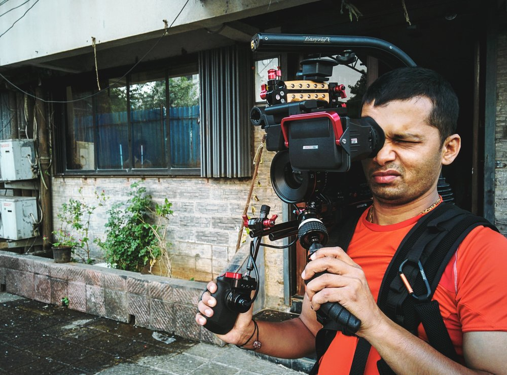 Rig testing with Director/DOP Amol Gole for the feature film project.
