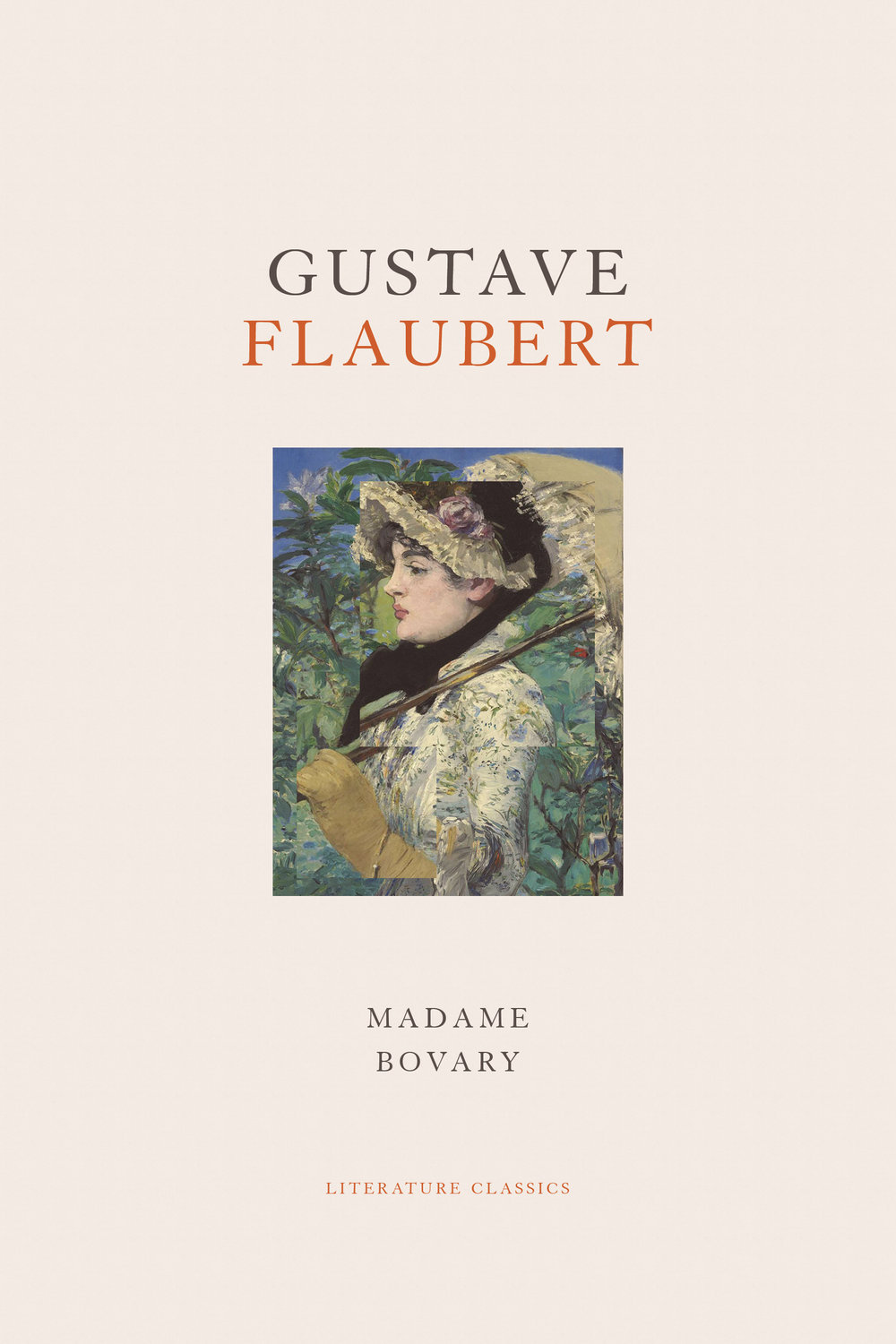My re-imagining of Flaubert's covers. All feature collages of 19th century paintings. (Self initiated project - not commissioned)
