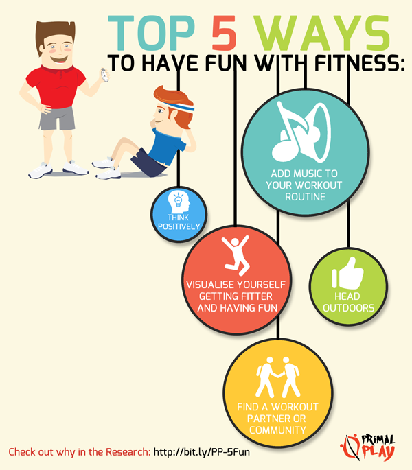 5 Ways To Have Fun With Fitness Primal Play Infographic