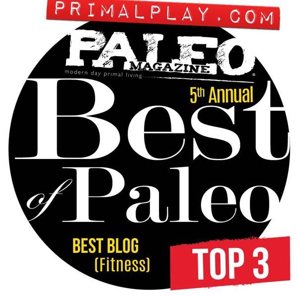Paleo Magazine Best of Paleo Awards - Primal Play