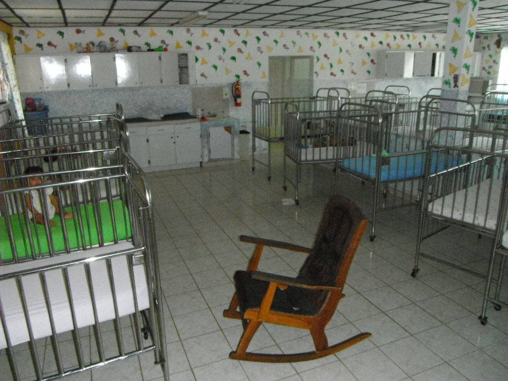 Donated Rust-Proof Steel Cribs