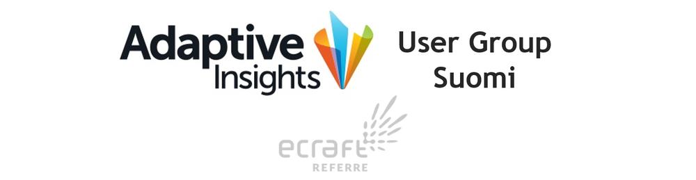 Adaptive User Group Suomi - eCraft Referre