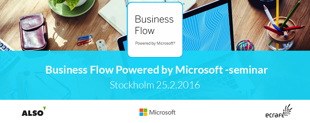 Business Flow Powered by Microsoft -seminar