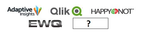 Connector - Adaptive Insights, Qlik, Happy or not, EWQ