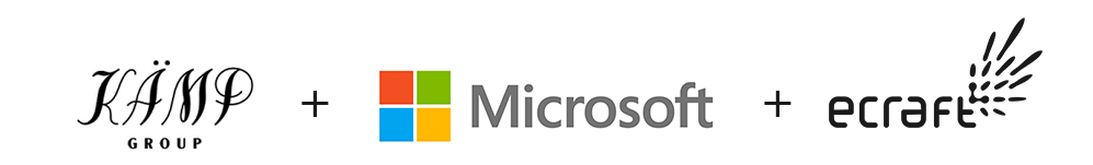 Kämp + Microsoft + eCraft