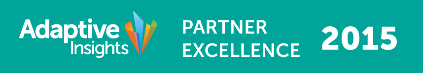Adaptive Insights Partner of Excellence 2015