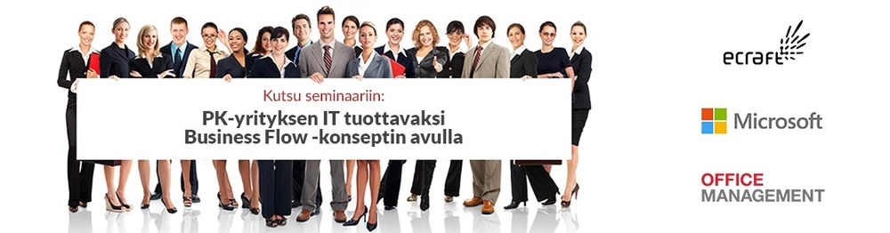 Pk yrityksen IT tuottavaksi -seminaari