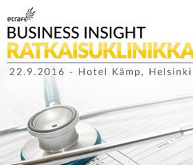 Business Insight Ratkaisuklinikka Hotel Kämp - 22.08.2016