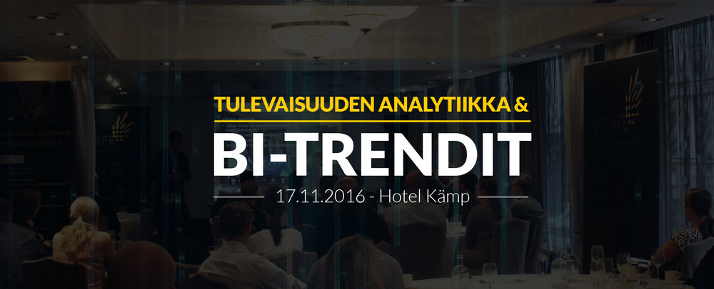 Qlik user group - 17.11.2016 - Hotel Kämp