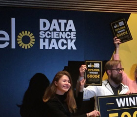 Elo Data Science Hackathon -voitto 01.11.2016