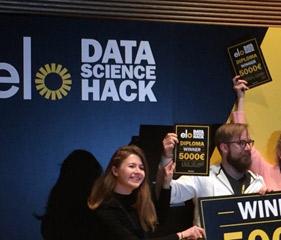 Elo Data Science Hackathon -voitto 01.11.2016