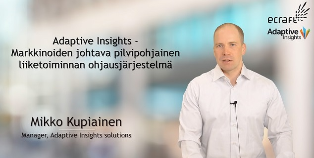 Adaptive Insights webinaari