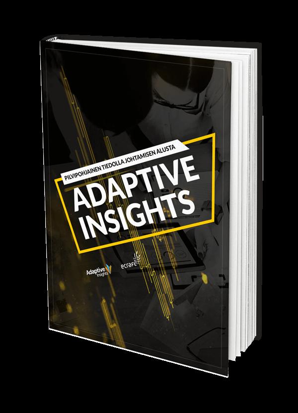 Adaptive Insights Pilvipohjainen tiedolla johtamisen alusta