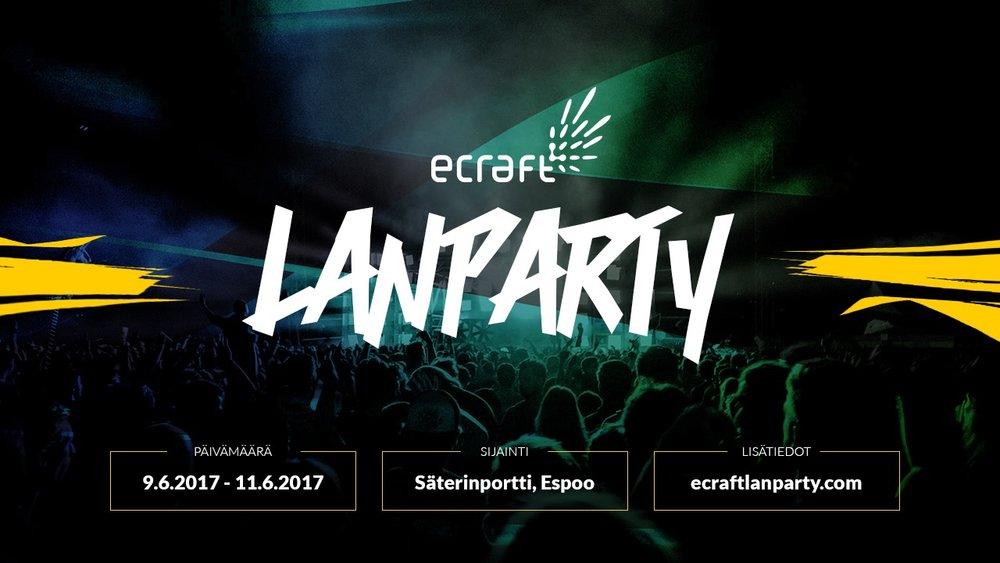 ecraft-lan-party