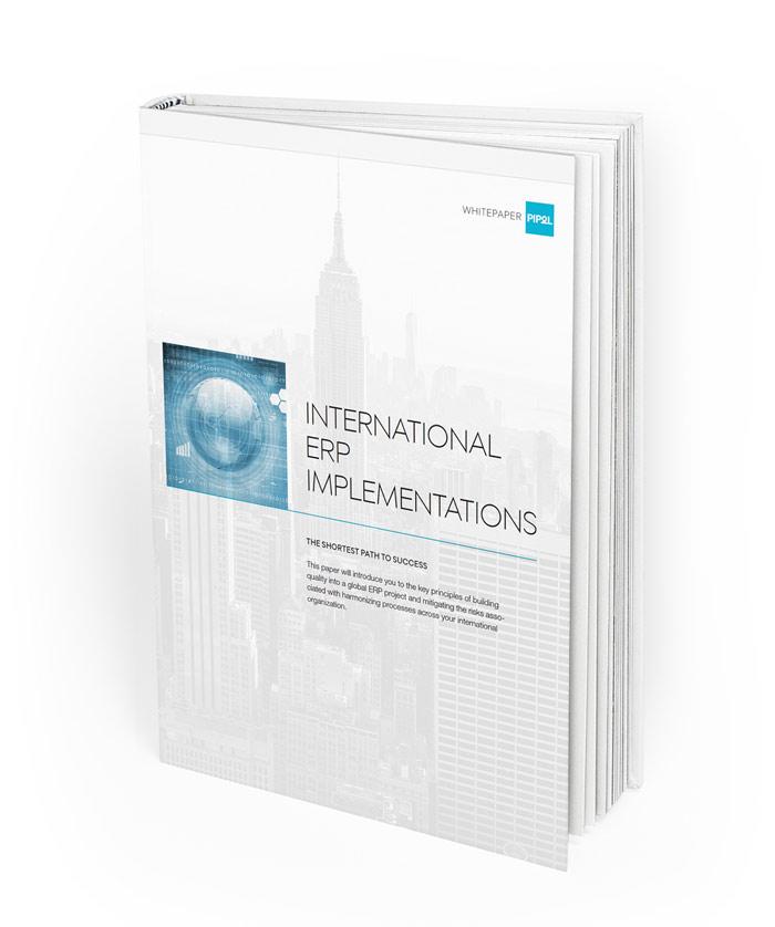 Kansainväliset ERP-käyttöönotot