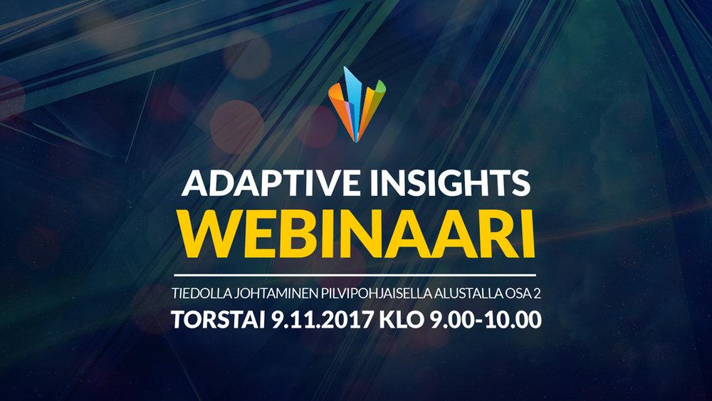 adaptive insights webinar part 2