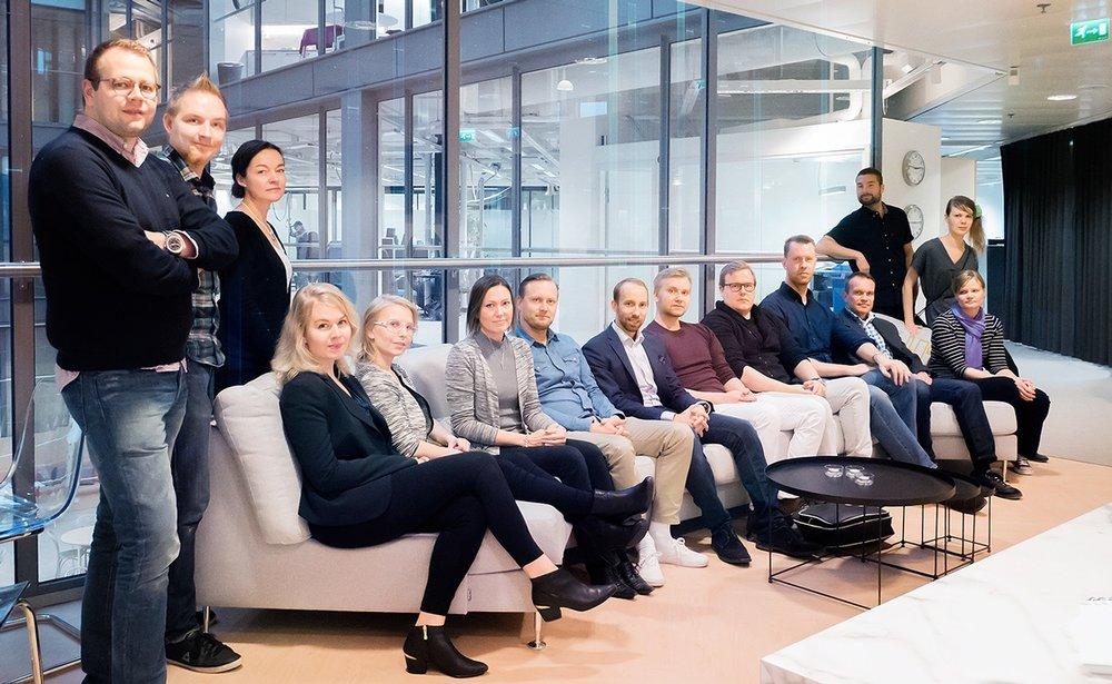 Uudet Newcrafterit: Mari, Tarja, Mikko, Toni, Emilia, Perttu, Jarkko, Kimmo, Björn, Timo, Sami, Mari, Pauliina, Miika ja Marketta.