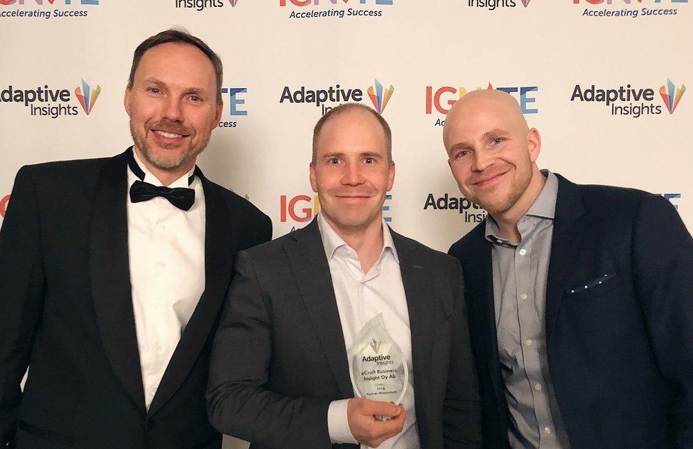 Adaptive Insights Partner of the Region EMEA and Partner Momentum Awards .jpg