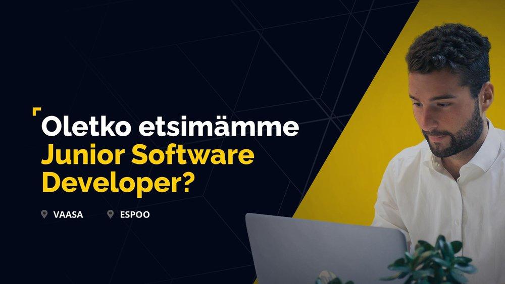 Haluatko kehittyä huippukoodariksi meidän kanssamme? Koulutamme ja rekrytoimme nyt sinut ja 3 muuta uutta Junior Software Developeria timanttiseen jengiimme Espooseen ja Vaasaan. Tarjoamme sinulle pääsyn mielenkiintoisiin projekteihin ja mahdollisuuden kehittää taitojasi eCraft Akatemiassa.