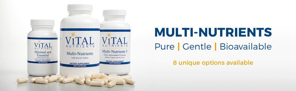 Multi-Nutrients Banner
