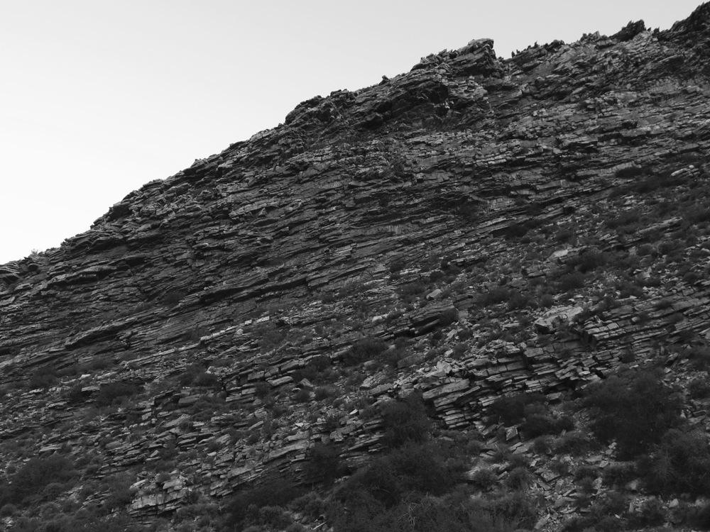 Swartruggens range, Tankwa Karoo 2016
