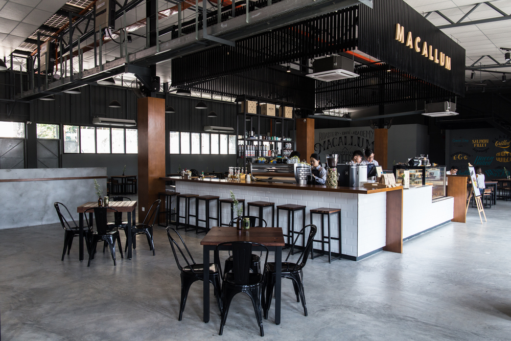Macallum Coffee Roaster Penang Georgetown