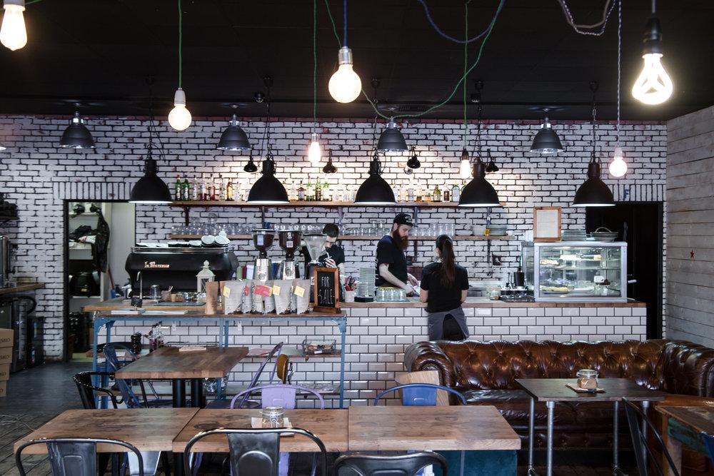 specialty coffee shop gorila.sk nratislava