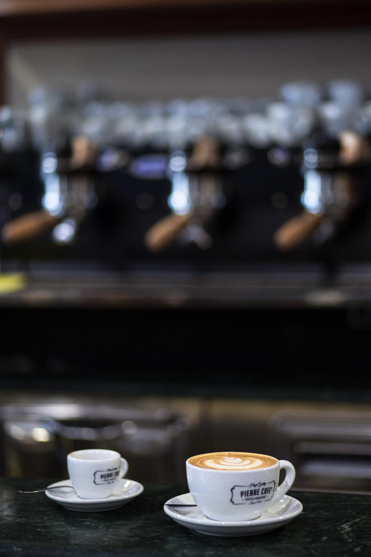 Pierre Cafe Gravina in Puglia specialty coffee