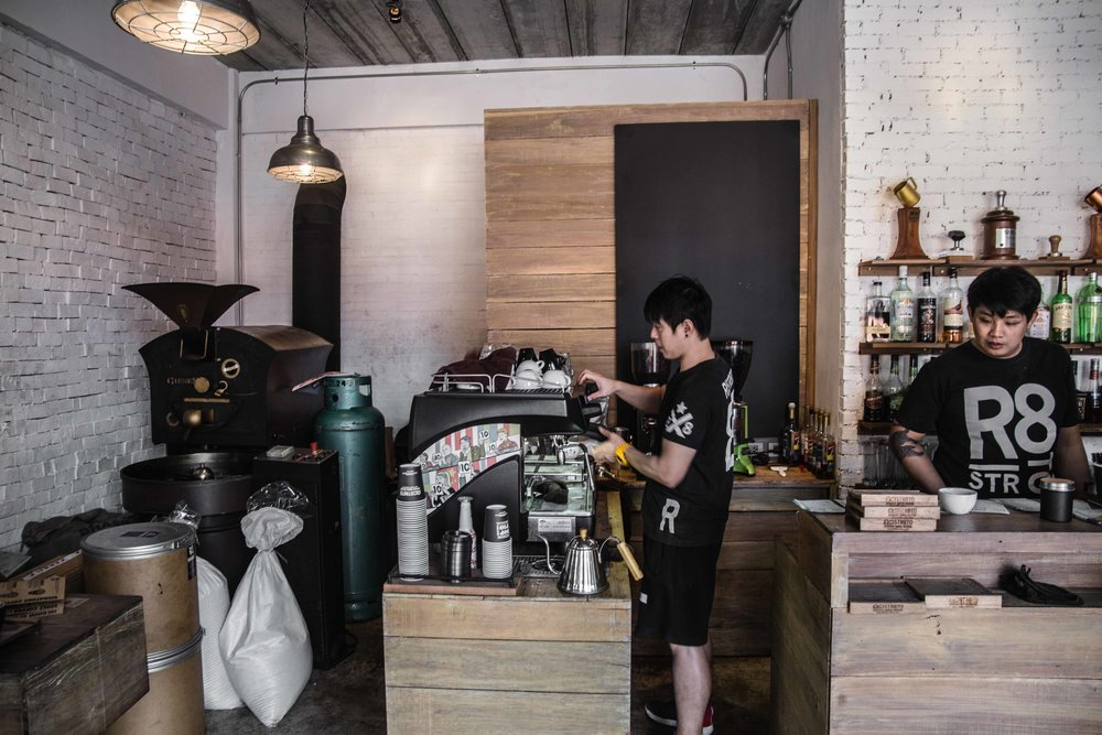 ristr8to specialty coffee shop chiang mai