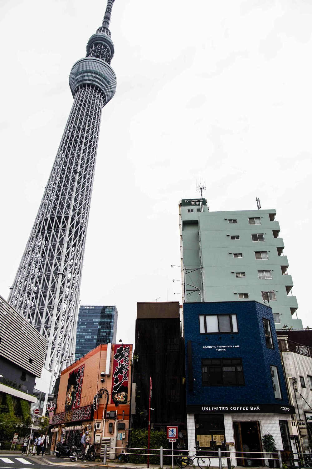 Skytree Unlimited Coffee Bar Tokyo
