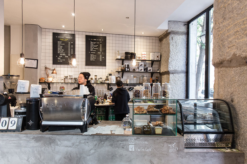 Best specialty coffee shops in madrid the way to coffee hanso is an incredibly welcoming coffee shop with a communal feel in the young and fashionable neighbourhood of malasaa during my stay in madrid i came malvernweather Gallery