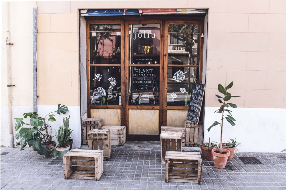 espai jolie barcelona coffee