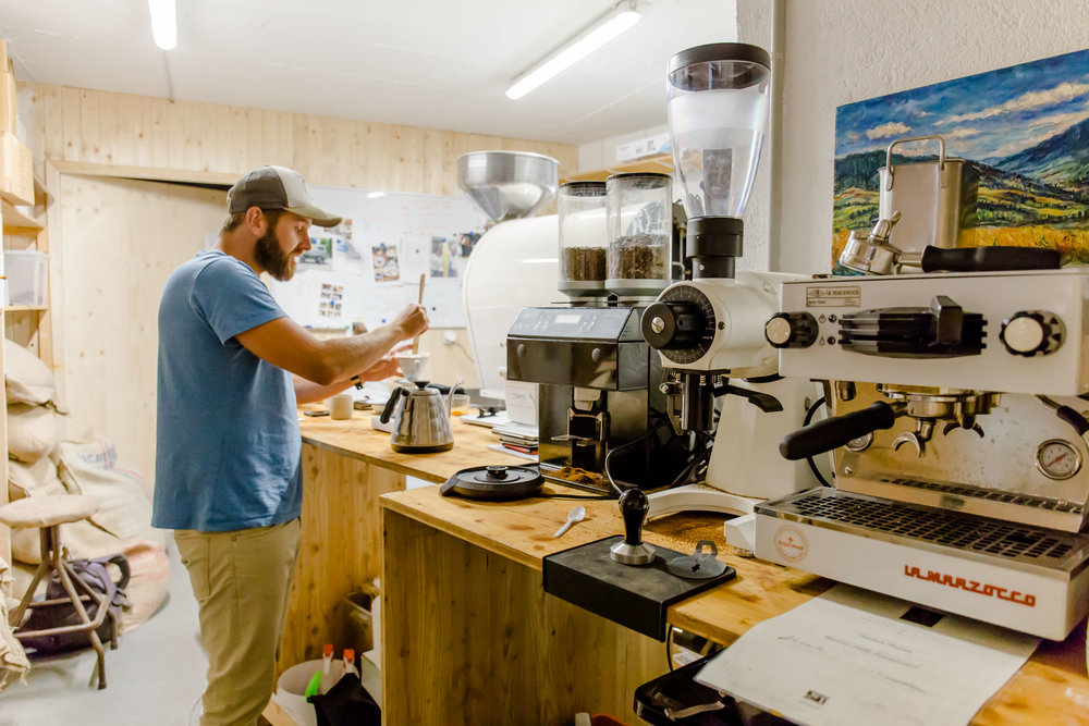 Marián Zermatt Rösterei specialty coffee