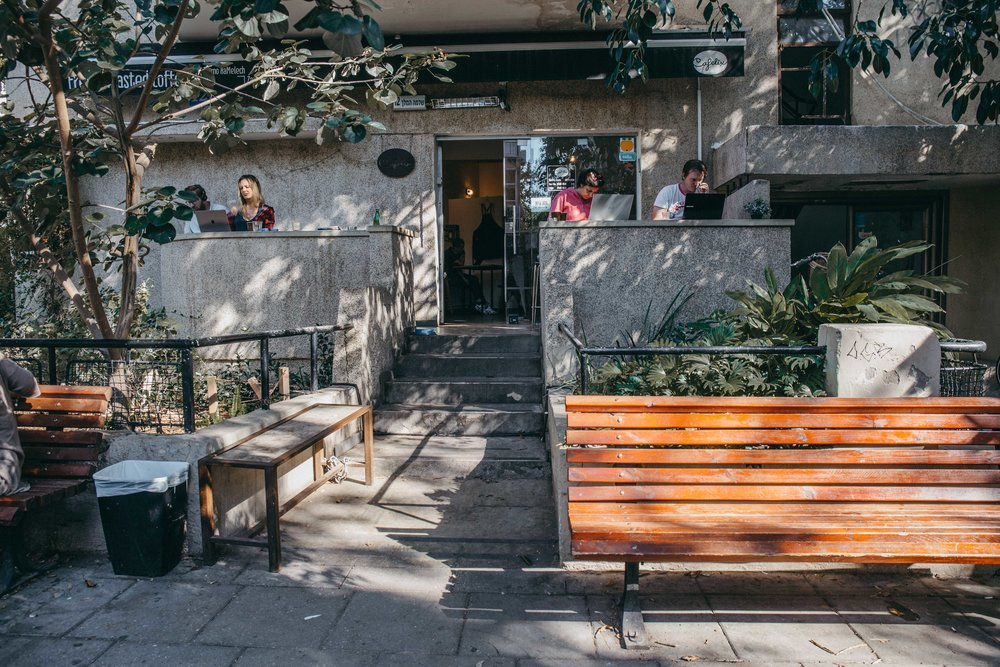 Cafelix near Dizengoff Square