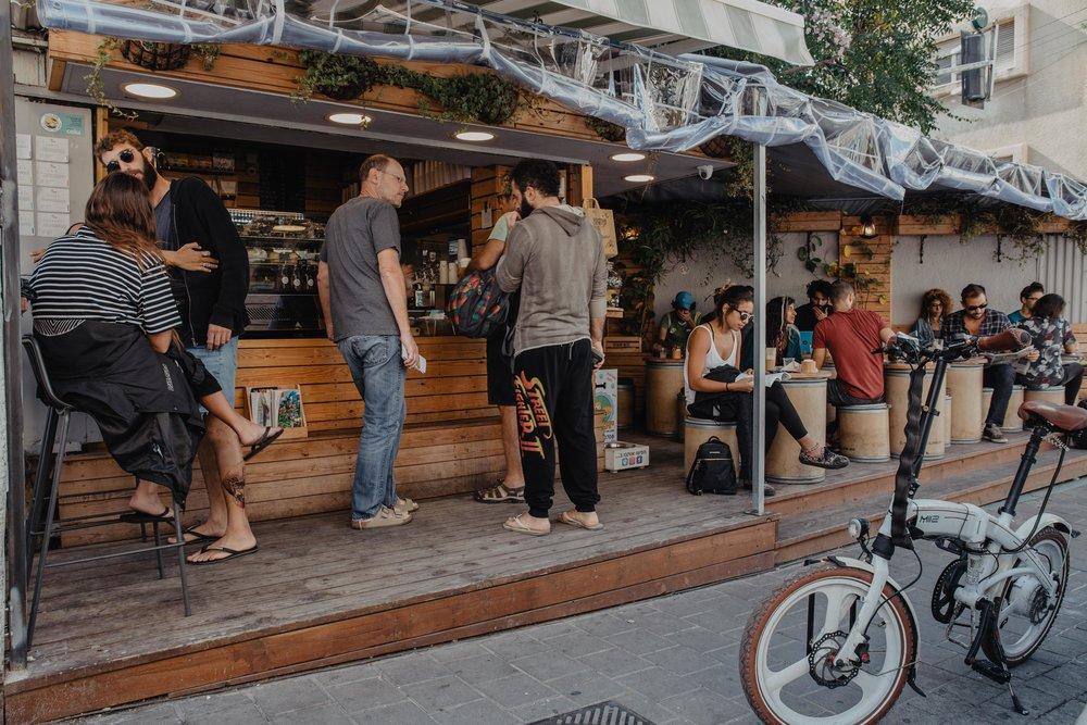 papua specialty cafe tel aviv