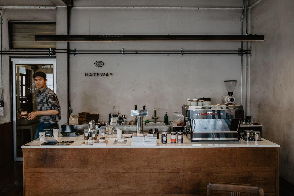 gatewaycoffee roaster chiang mai