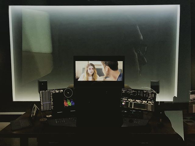 My #shortfilm #thiswillendbadly is getting the #finishingtouches. #colorgrade with my man @nikola_colorist and the fine folks at #mpc #shanghai #china #daedalumfilms