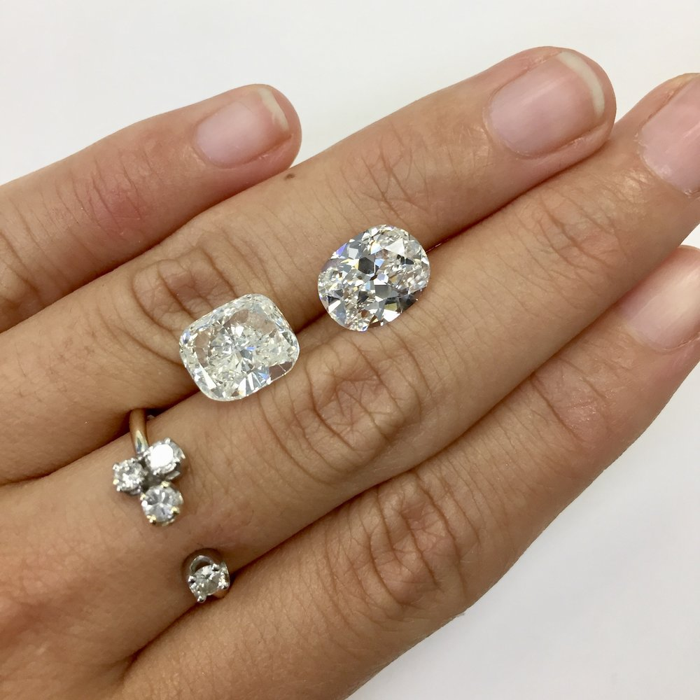 history emerald engagement rings kristin vs news cut brilliant img radiant forever cuts comparison rectangular moissanites blogs